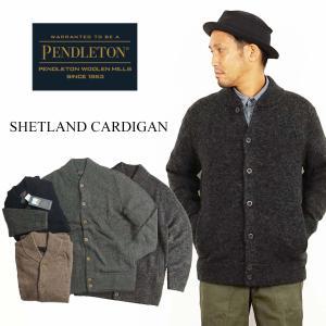 ペンドルトン PENDLETON ウール セーター シェットランド カーディガン(シェットランド CARDIGAN)|jalana