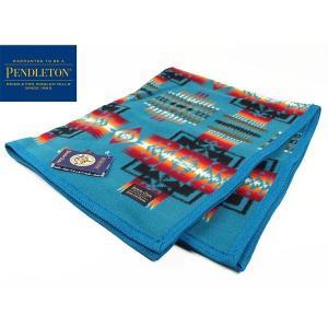 ペンドルトン PENDLETON チーフジョセフ ムチャチョ ブランケット ターコイズ (CHIEF JOSEPH MUCHACHO BLANKET ウール 膝掛け 毛布)|jalana