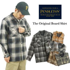 ペンドルトン PENDLETON 長袖 ウールシャツ クラッシックボードシャツ(CLASSIC BOARD SHIRT オープンカラー 開襟 ボックスシャツ)|jalana