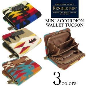 ペンドルトン PENDLETON ミニ アコーディオン ウォレット ツーソン(財布 小銭入れ コインパース)|jalana