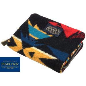 ペンドルトン PENDLETON ミニ アコーディオン ウォレット エコピークス ブラック (財布 小銭入れ)|jalana