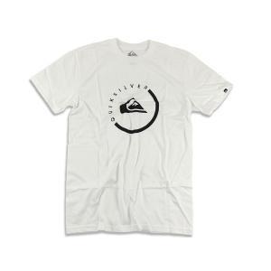 クイックシルバー QUIKSILVER 半袖Tシャツ エブリデイアクティブ ホワイト (EVERYDAY ACTIVE)|jalana