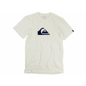 クイックシルバー QUIKSILVER 半袖Tシャツ マウンテンウェーブロゴ ホワイト (MW LOGO MOUNTAIN WAVE)|jalana