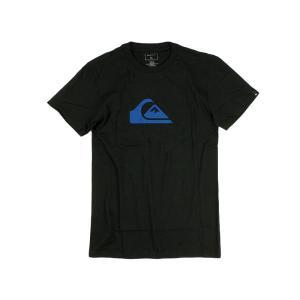 クイックシルバー QUIKSILVER 半袖Tシャツ マウンテンウェーブロゴ ブラック (MW LOGO MOUNTAIN WAVE)|jalana