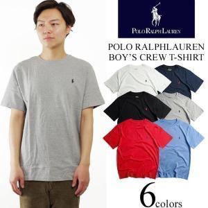 ポロ ラルフローレン POLO RALPHLAUREN ボーイズ 半袖 クルーネック Tシャツ (米国流通モデル ワンポイント)|jalana