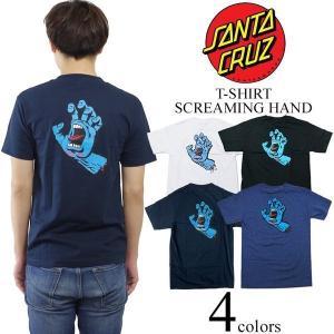 サンタクルズ SANTA CRUZ 半袖Tシャツ スクリーミング ハンド(米国流通モデル SCREAMING HAND サンタクルーズ)|jalana