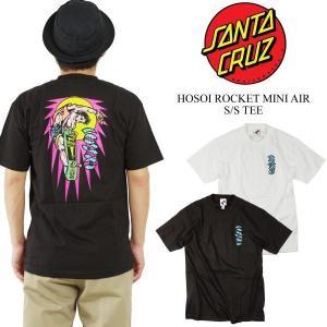 サンタクルズ SANTA CRUZ 半袖Tシャツ ホソイロケットミニエアー (米国流通モデル クリスチャン ホソイ サンタクルーズ)|jalana
