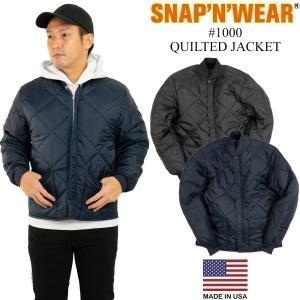 スナップンウエア SNAP'N'WEAR #1000 キルトジャケット (アメリカ製 米国製 QUILTED JACKET キルティング ジャケット)|jalana