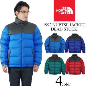 ノースフェイス THE NORTH FACE 1992 ヌプシ ジャケット デッドストック (日本未発売 NUPTSE JACKET ダウンジャケット 防寒)|jalana