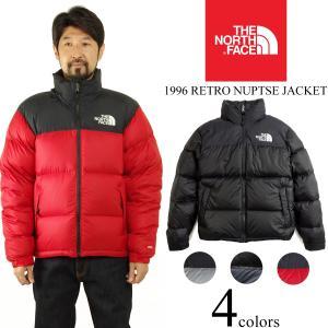 ノースフェイス THE NORTH FACE 1996 レトロ ヌプシ ジャケット (日本未発売 RETRO NUPTSE JACKET ダウンジャケット 防寒)|jalana