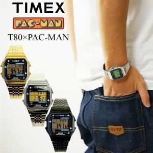 タイメックス TIMEX T80×PAC-MAN パックマン生誕40周年記念 コラボレーションウォッチ限定モデル T80 PAC-MAN 80年代 デジタル 海外買い付け jalana