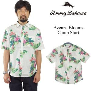 トミーバハマ Tommy Bahama 半袖シャツ アベンザブルームス キャンプシャツ (世界流通モデル Avenza Blooms アロハシャツ)|jalana