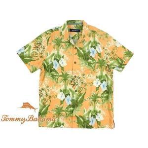 トミーバハマ Tommy Bahama 半袖シャツ コルフジャングル サツマ (世界流通モデル CORFU JUNGLE CAMP SHIRT)|jalana