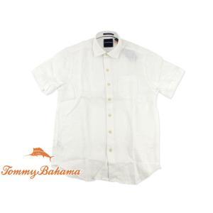 トミーバハマ Tommy Bahama 半袖シャツ サンマリノ ホワイト (世界流通モデル S/S SAN MARINO)|jalana