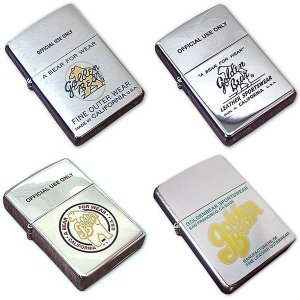 ジービースポーツ Gbsport ノベルティ ジッポ (アメリカ製 米国製 ZIPPO オイル ライター 非売品 販促品 ゴールデンベアー 旧タグ)|jalana