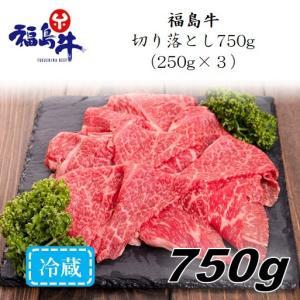 「福島牛」切り落とし750g(250g×3パック)〈冷蔵便〉|jalcf