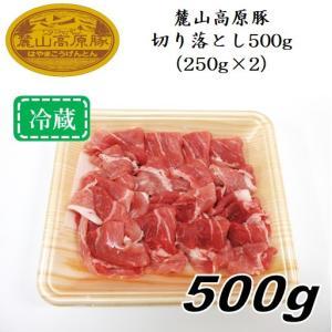 「麓山高原豚」切り落とし500g(250g×2パック)〈冷蔵便〉|jalcf