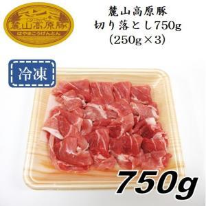 「麓山高原豚」切り落とし750g(250g×3パック)〈冷凍便〉|jalcf