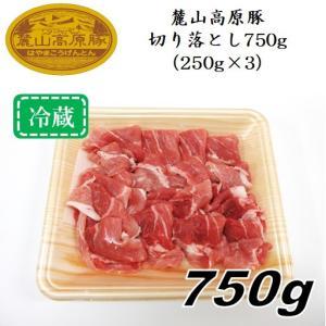 「麓山高原豚」切り落とし750g(250g×3パック)〈冷蔵便〉|jalcf
