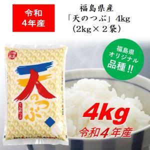 福島県産米「天のつぶ」4kg(2kg×2)|jalcf
