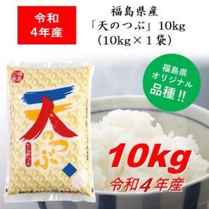 福島県産米「天のつぶ」10kg(10kg×1)|jalcf