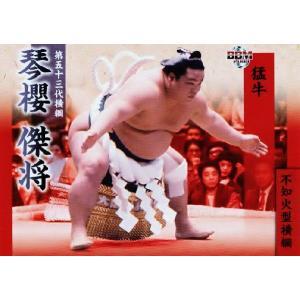 BBM 大相撲カード 2008 レギュラー 【不知火型横綱】 85 琴櫻 傑将 jambalaya