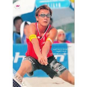 BBM ビーチバレーカードセット2009 【attack!】 レギュラー 07 西村晃一|jambalaya