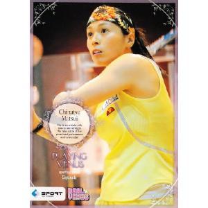 BBM2009 リアルヴィーナス レギュラー 【Playng Venus】 35 松井千夏 (スカッシュ)|jambalaya