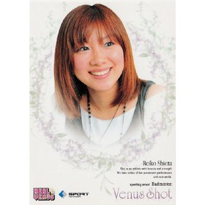 BBM2009 リアルヴィーナス レギュラー 【Venus Shot】 63 潮田玲子 (バドミントン)|jambalaya