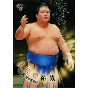 BBM 大相撲カード 2010 レギュラー 36 土佐豊 祐哉