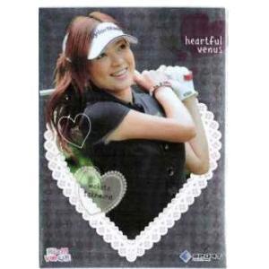 2010 BBM リアルヴィーナス インサート 【heartful venus】 RV05 竹村真琴 (ゴルフ)|jambalaya
