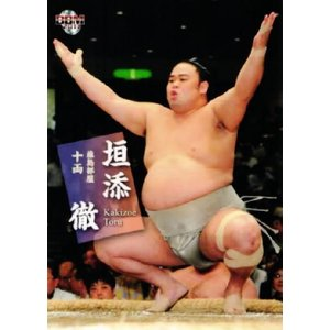 BBM 大相撲カード 2011 レギュラー 55 垣添 徹|jambalaya