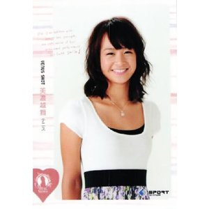 BBM リアルヴィーナス2011 レギュラー 06 美濃越舞 (テニス) jambalaya