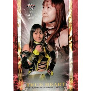 BBM 女子プロレスカード2011 TRUE HEART レギュラー 【TRUE HEARTカード】 03 阿部幸江 (JWP) jambalaya