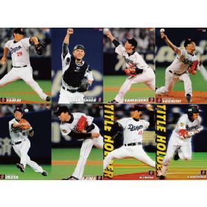 【中日ドラゴンズ/全8種】カルビー 2013プロ野球チップス第1弾 [チーム別レギュラーコンプリートセット](※インサート・スペシャルカードは除く)|jambalaya
