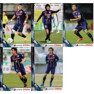 2013Jカード2nd 【チームコンプリートセット】 ザスパ草津 全5種