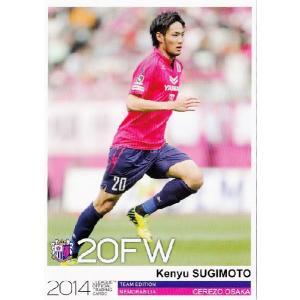 Jカード TEメモラビリア セレッソ大阪 2014 レギュラー CO20 杉本健勇