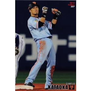 【207 片岡治大 (読売ジャイアンツ)】カルビー 2015プロ野球チップス第3弾 レギュラー