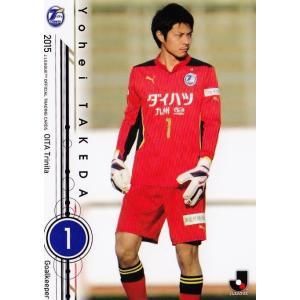2015 Jリーグオフィシャルカード レギュラー 244 武田洋平 (大分トリニータ)