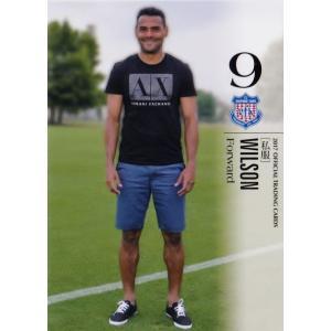 40 【ウイルソン】[クラブ発行]2017 ヴァンフォーレ甲府 オフィシャルカード レギュラー [私服カード]|jambalaya