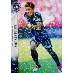 7 【松田力】[クラブ発行]2017 アビスパ福岡 オフィシャルカード レギュラーパラレル|jambalaya