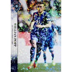 18 【ウィリアン ポッピ】[クラブ発行]2017 アビスパ福岡 オフィシャルカード レギュラーパラレル|jambalaya