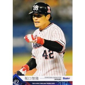 27 【坂口智隆】2017 第4回ファンが選ぶ「東京ヤクルトスワローズ」公式カード レギュラー|jambalaya