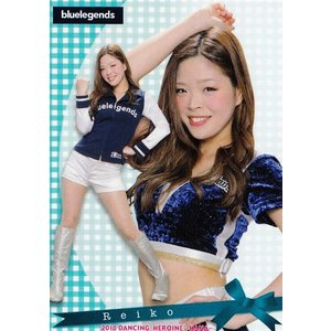 13 【Reiko (西武/bluelegends)】BBM プロ野球チアリーダーカード2018 -華- レギュラー|jambalaya
