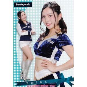 18 【EMIKA (西武/bluelegends)】BBM プロ野球チアリーダーカード2018 -華- レギュラー|jambalaya