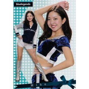 10 【Miho (西武/bluelegends)】BBM プロ野球チアリーダーカード2018 -舞- レギュラー|jambalaya