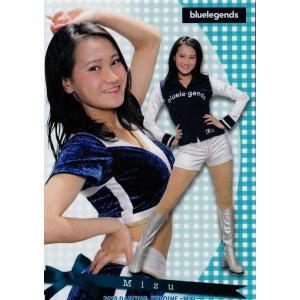 15 【Mizu (西武/bluelegends)】BBM プロ野球チアリーダーカード2018 -舞- レギュラー|jambalaya