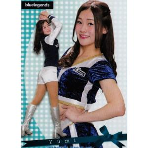 17 【Yumi (西武/bluelegends)】BBM プロ野球チアリーダーカード2018 -舞- レギュラー|jambalaya