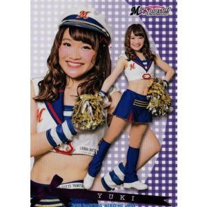 52 【YUKI (ロッテ/M☆Splash!!)】BBM プロ野球チアリーダーカード2018 -舞- レギュラー|jambalaya
