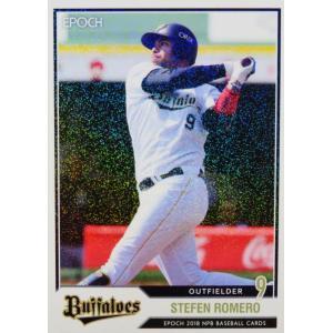 132 【ロメロ/オリックス・バファローズ】エポック 2018 NPBプロ野球カード レギュラーパラ...